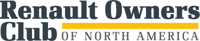 Renault Owners Club of North America Logo