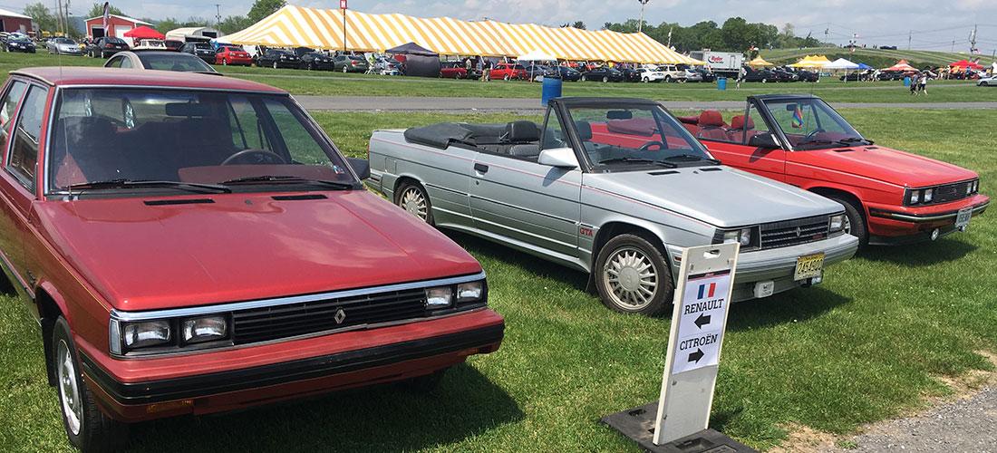 Cars At Carlisle >> 8th Annual International French Car Meet Carlisle Import And